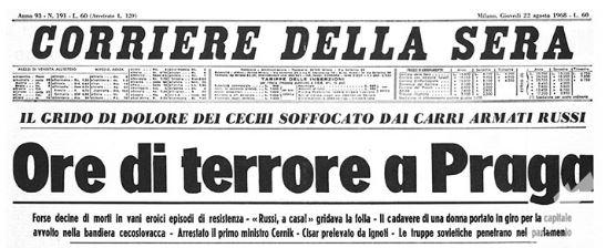 corriere 1968