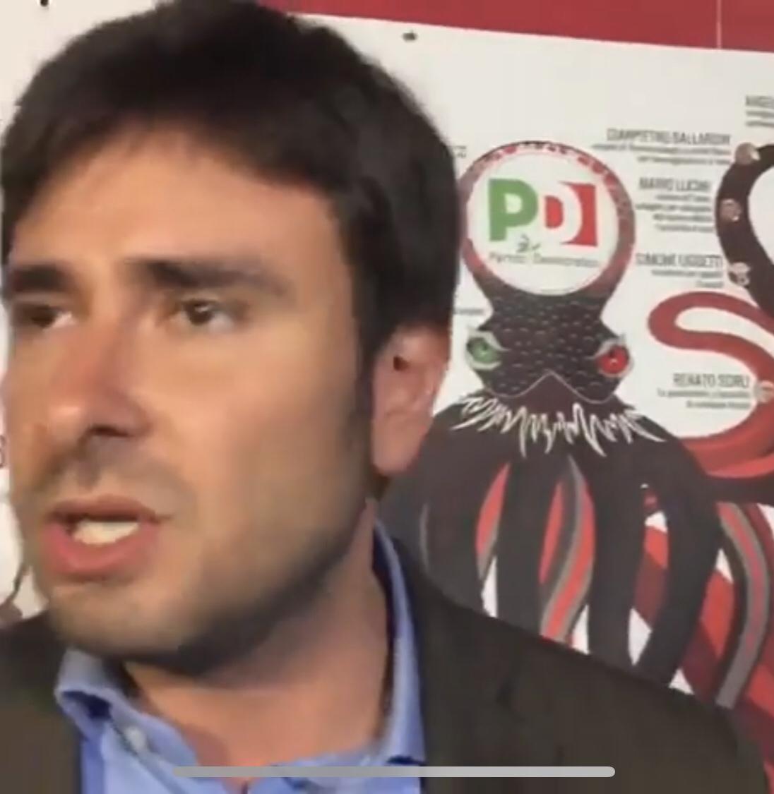 """Di Battista come Fassino. La predizione sul M5S. """"Obiettivo del PD è farci diventare come loro""""."""